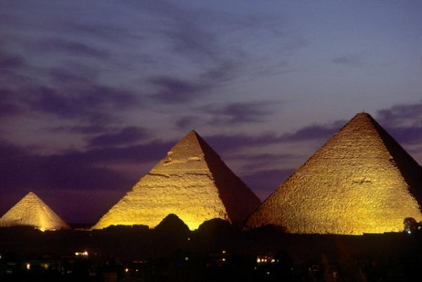 Sound and Light Show at Giza Pyramids
