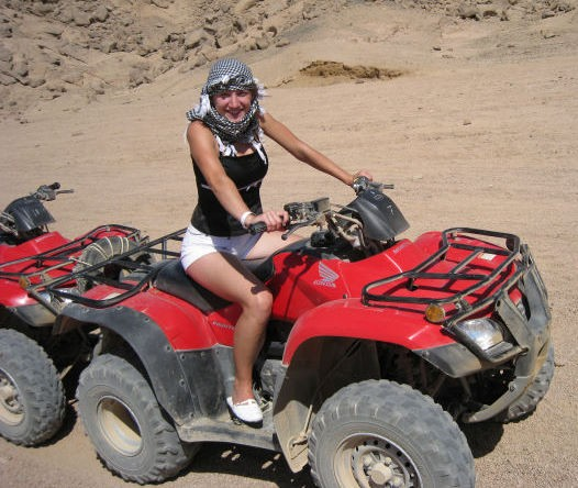 Quad Bike Tour around the Pyramids Area