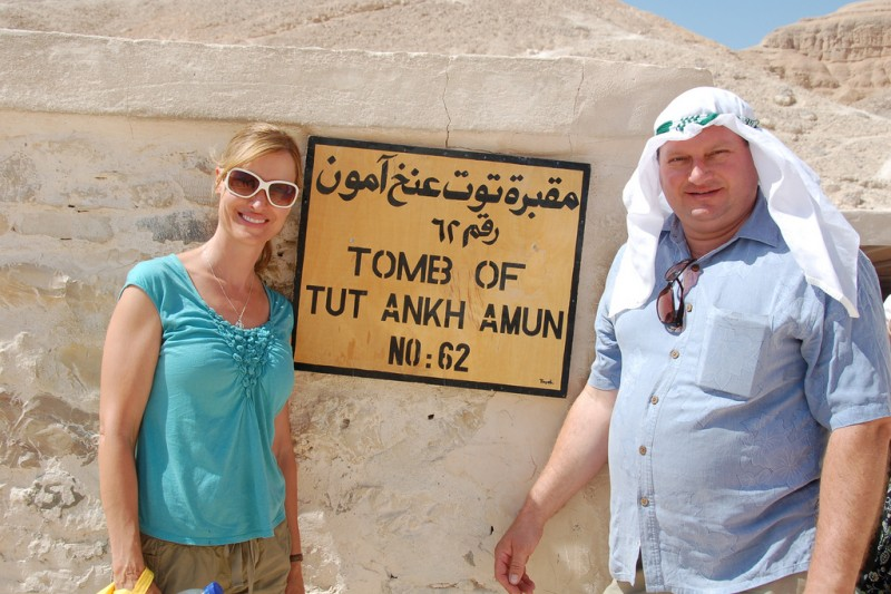 King Tut's Tomb at the Valley of the Kings