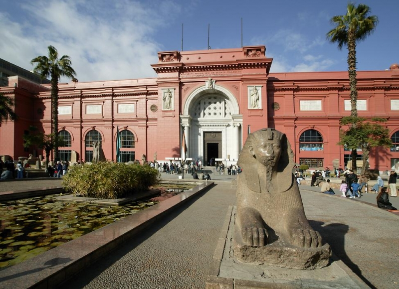 The Egyptian Museum at Tahrir Square