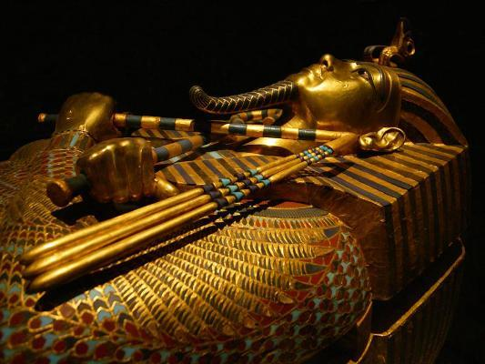 King Tut Golden Mask, The Egyptian Museum