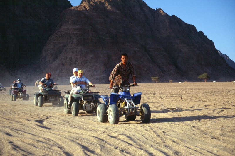 Desert Safari by Quad Bike
