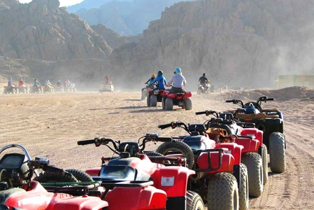 Sinai Desert Safari by Quad Bike