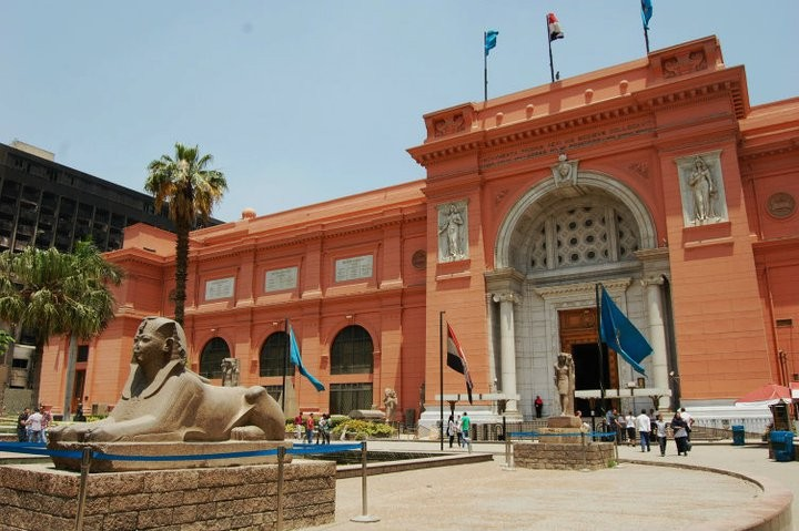 Egyptian Museum at Tahrir Square