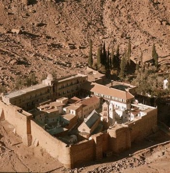 A View of St.Catherine Monastery, Sinai