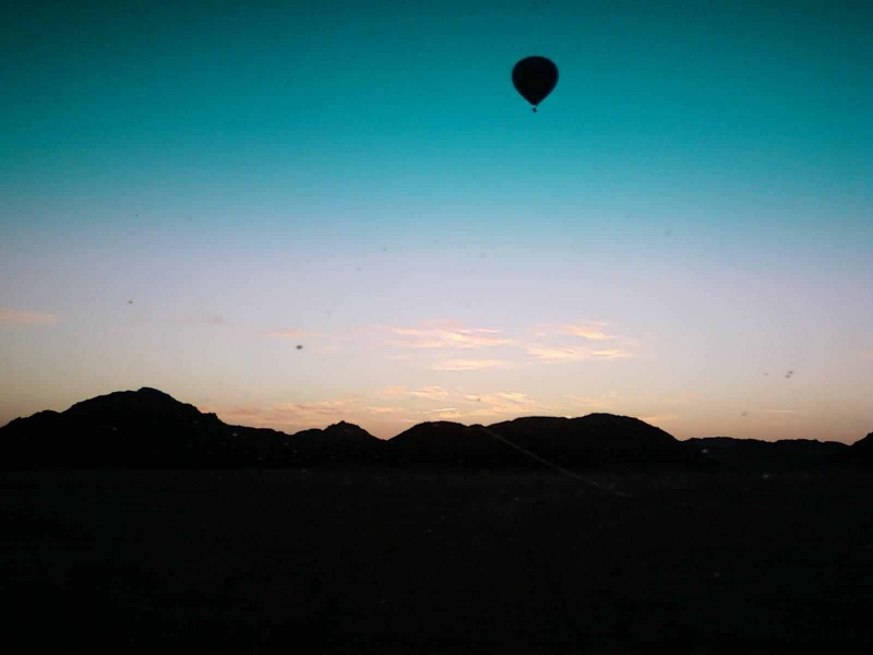 Hot Air Balloon Flight over The Desert of Hurghada