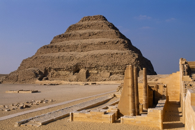 Step Pyramid at Sakkara, Giza