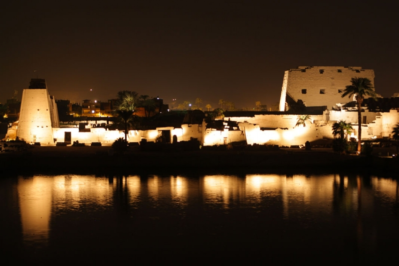 Sound and Light Show at Karnak Temple
