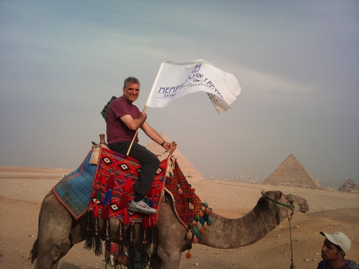 Camel Riding in Giza Pyramid