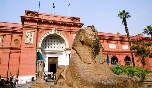 The Egyptian Museum at Tahrir Square, Cairo