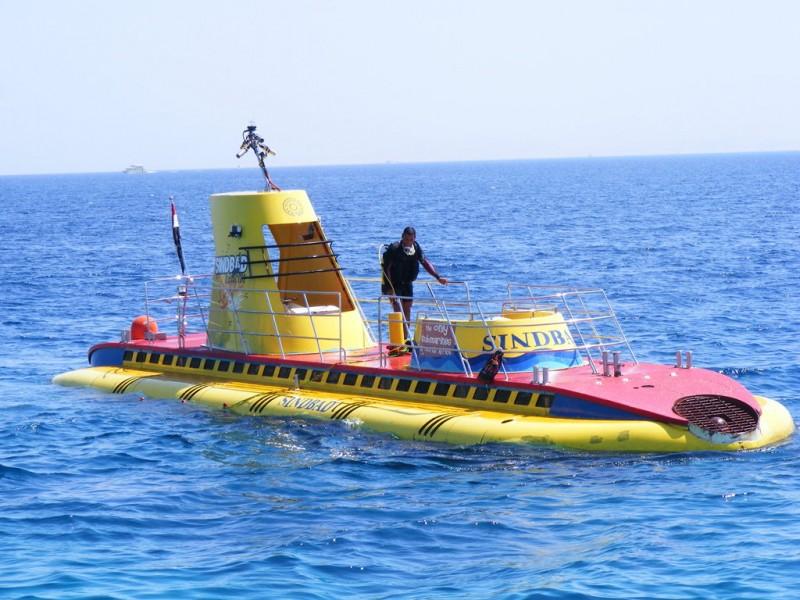 подводная лодка синдбад хургада